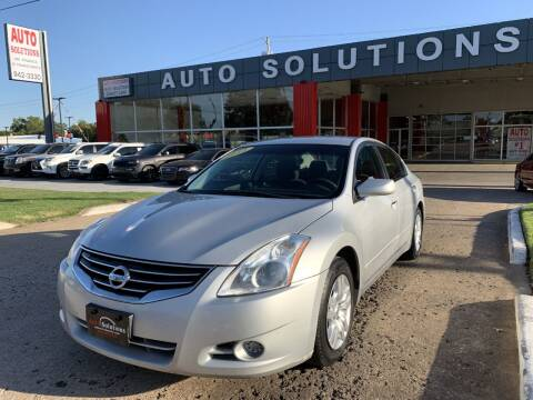 2012 Nissan Altima for sale at Auto Solutions in Warr Acres OK
