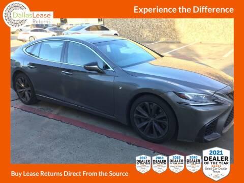 2018 Lexus LS 500 for sale at Dallas Auto Finance in Dallas TX