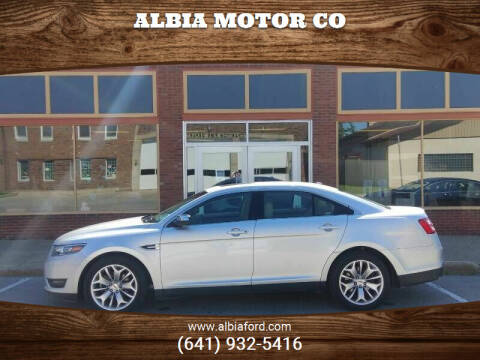 2019 Ford Taurus for sale at Albia Motor Co in Albia IA
