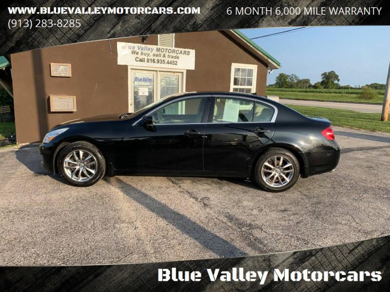 2008 Infiniti G35 for sale at Blue Valley Motorcars in Stilwell KS