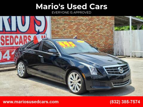 2014 Cadillac ATS for sale at Mario's Used Cars in Houston TX