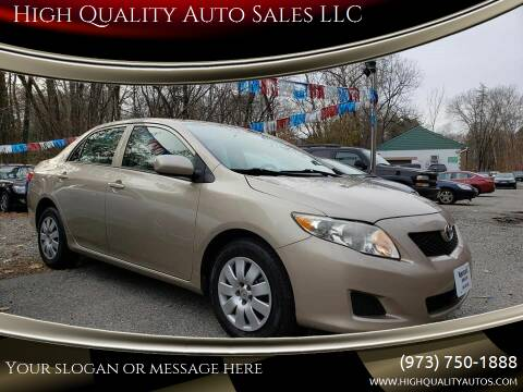 2009 Toyota Corolla for sale at High Quality Auto Sales LLC in Bloomingdale NJ