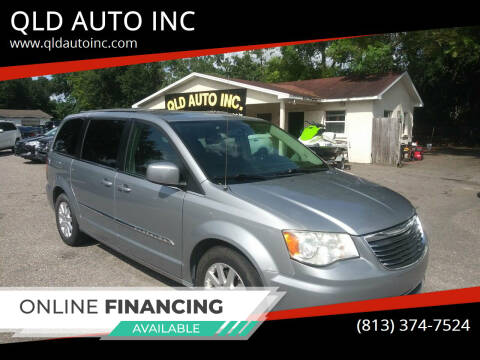 2014 Chrysler Town and Country for sale at QLD AUTO INC in Tampa FL