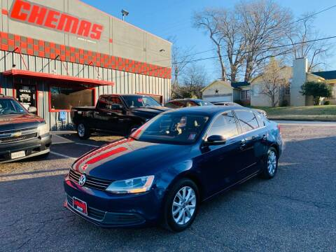 2014 Volkswagen Jetta for sale at Chema's Autos & Tires in Tyler TX