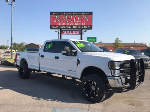 2018 Ford F-350 Super Duty for sale at RAUL'S TRUCK & AUTO SALES, INC in Oklahoma City OK