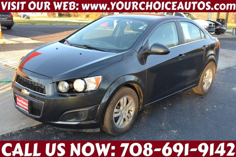2014 Chevrolet Sonic for sale at Your Choice Autos - Crestwood in Crestwood IL