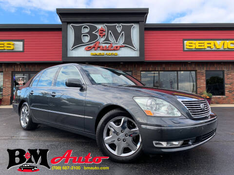 2004 Lexus LS 430 for sale at B & M Auto Sales Inc. in Oak Forest IL