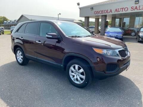 2012 Kia Sorento for sale at Osceola Auto Sales and Service in Osceola WI