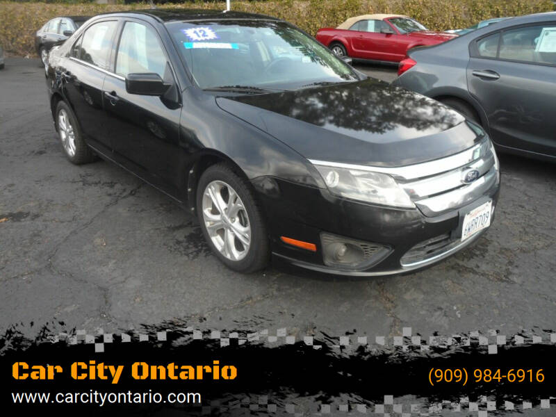 2012 Ford Fusion for sale at Car City Ontario in Ontario CA