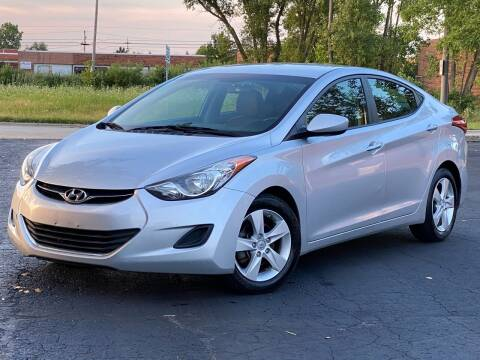 2013 Hyundai Elantra for sale at Schaumburg Motor Cars in Schaumburg IL