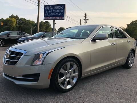2015 Cadillac ATS for sale at Capital Motors in Raleigh NC