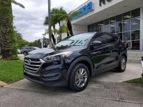 2017 Hyundai Tucson for sale at Mazda of North Miami in Miami FL