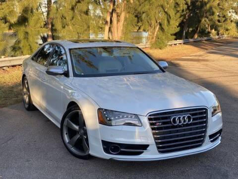 2013 Audi S8 for sale at Exclusive Impex Inc in Davie FL