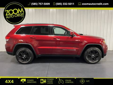 2015 Jeep Grand Cherokee for sale at ZoomAutoCredit.com in Elba NY