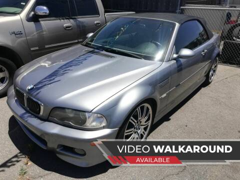 2003 BMW M3 for sale at Quality Auto Outlet in Vista CA