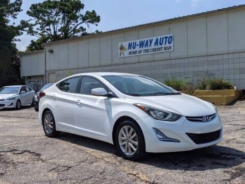 2014 Hyundai Elantra for sale at Nu-Way Auto Ocean Springs in Ocean Springs MS