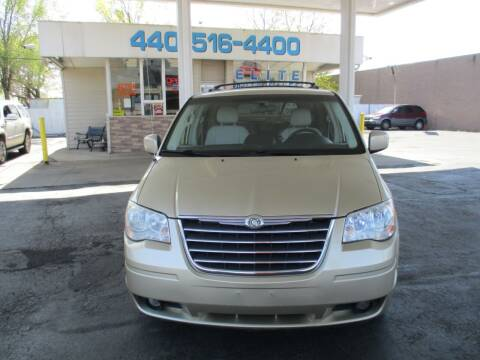 2010 Chrysler Town and Country for sale at Elite Auto Sales in Willowick OH