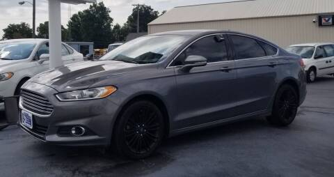2014 Ford Fusion for sale at Larry Schaaf Auto Sales in Saint Marys OH