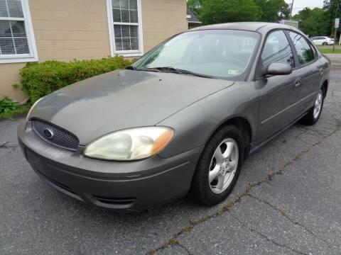 2004 Ford Taurus for sale at Liberty Motors in Chesapeake VA