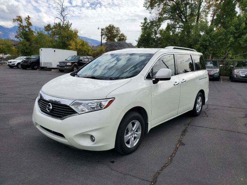 2015 Nissan Quest for sale at UTAH AUTO EXCHANGE INC in Midvale UT