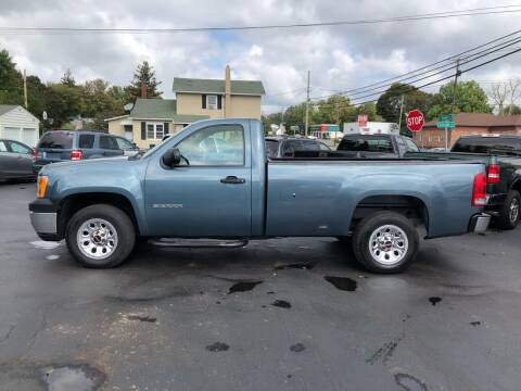 2011 GMC Sierra 1500 for sale at NICKEL CITY AUTO SALES in Lockport NY