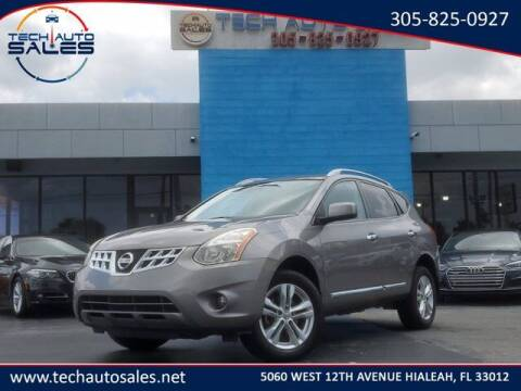 2013 Nissan Rogue for sale at Tech Auto Sales in Hialeah FL