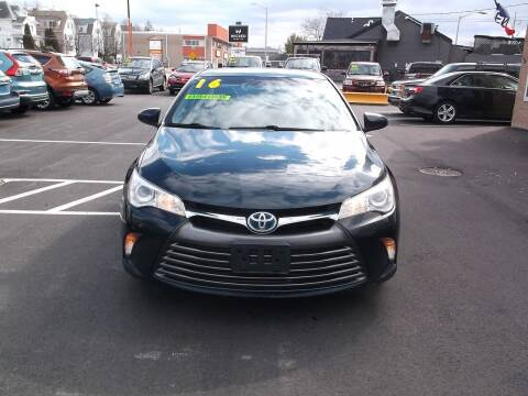 2016 Toyota Camry Hybrid for sale at Sharp Auto Center in Worcester MA