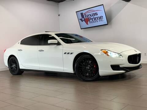 2014 Maserati Quattroporte for sale at Texas Prime Motors in Houston TX