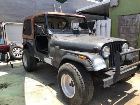 1986 Jeep CJ-7 for sale at Solares Auto Sales in Miami FL