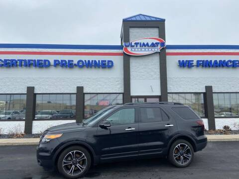 2014 Ford Explorer for sale at Ultimate Auto Deals in Fort Wayne IN