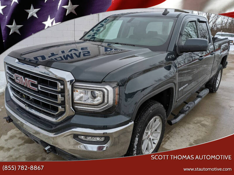 2017 GMC Sierra 1500 for sale at Scott Thomas Automotive in Clinton Township MI