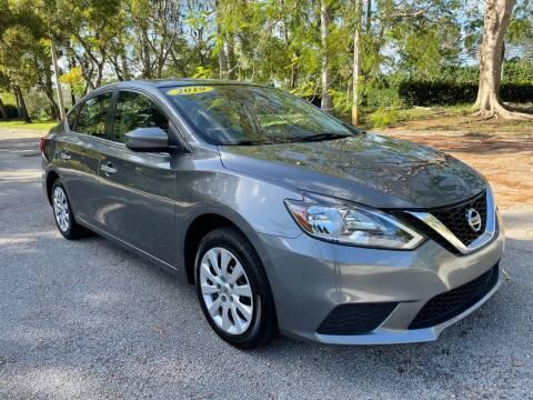 2019 Nissan Sentra for sale at DELRAY AUTO MALL in Delray Beach FL