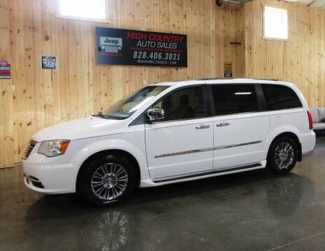 2011 Chrysler Town and Country for sale at Boone NC Jeeps-High Country Auto Sales in Boone NC