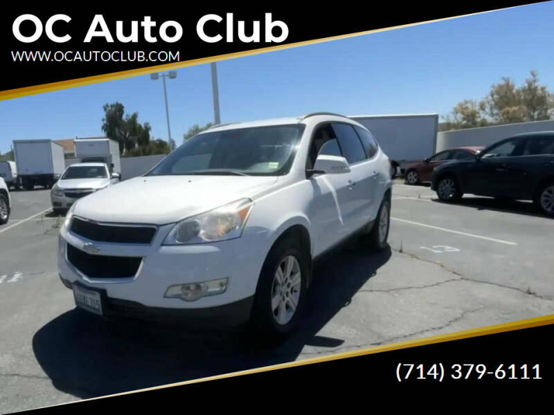2012 Chevrolet Traverse for sale at OC Auto Club in Midway City CA