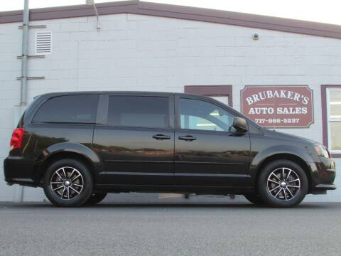 2015 Dodge Grand Caravan for sale at Brubakers Auto Sales in Myerstown PA