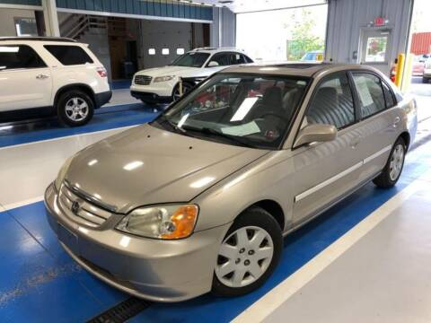 2002 Honda Civic for sale at On The Road Again Auto Sales in Lake Ariel PA