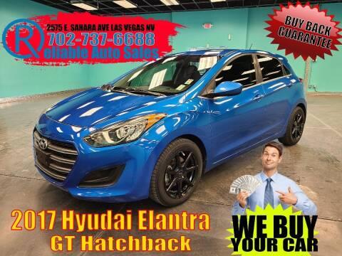 2017 Hyundai Elantra GT for sale at Reliable Auto Sales in Las Vegas NV