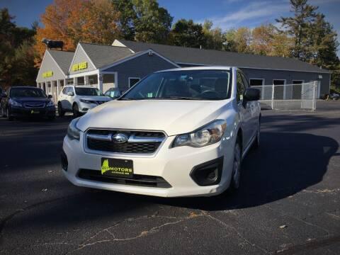 2012 Subaru Impreza for sale at 207 Motors in Gorham ME
