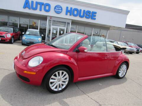2008 Volkswagen New Beetle Convertible for sale at Auto House Motors in Downers Grove IL
