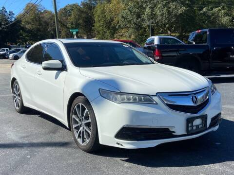 2015 Acura TLX for sale at Luxury Auto Innovations in Flowery Branch GA