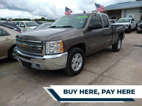 2013 Chevrolet Silverado 1500 for sale at GRG Auto Plex in Houston TX