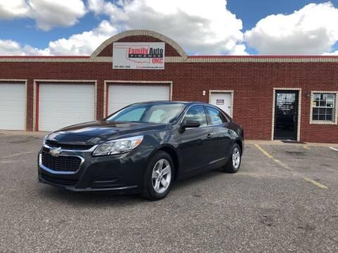 2015 Chevrolet Malibu for sale at Family Auto Finance OKC LLC in Oklahoma City OK
