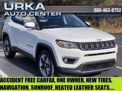 2018 Jeep Compass for sale at Urka Auto Center in Ludington MI