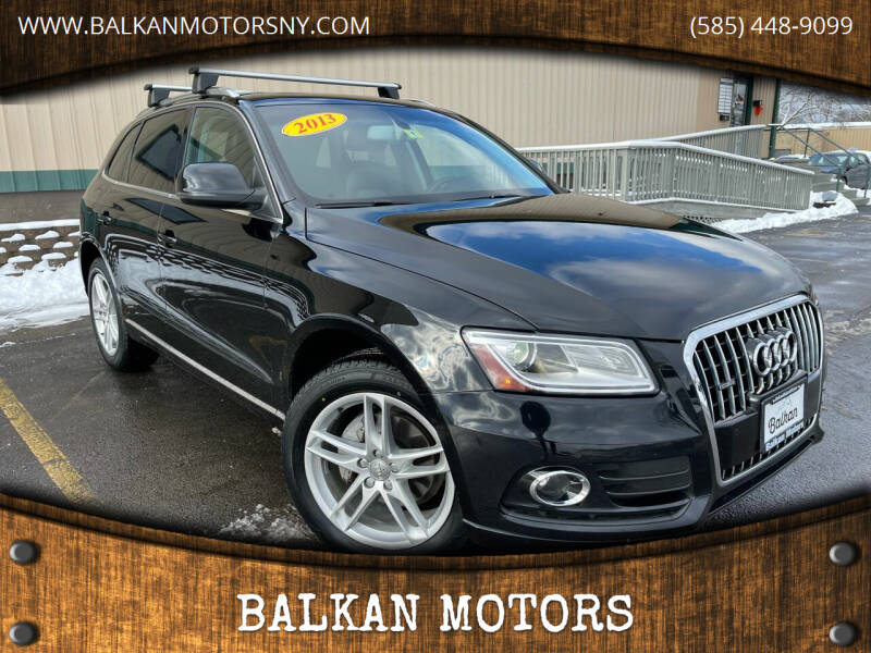2013 Audi Q5 for sale at BALKAN MOTORS in East Rochester NY