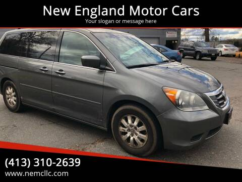 2008 Honda Odyssey for sale at New England Motor Cars in Springfield MA