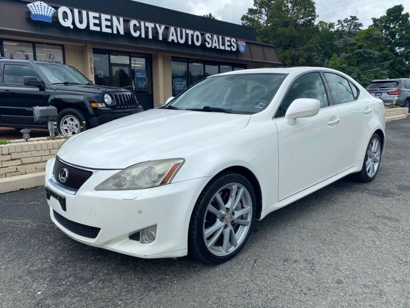 2006 Lexus IS 350 for sale at Queen City Auto Sales in Charlotte NC