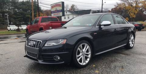 2012 Audi S4 for sale at Beachside Motors, Inc. in Ludlow MA