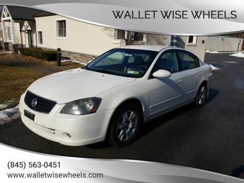 2006 Nissan Altima for sale at Wallet Wise Wheels in Montgomery NY