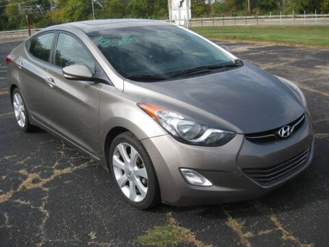 2013 Hyundai Elantra for sale at Pre-Owned Imports in Pekin IL