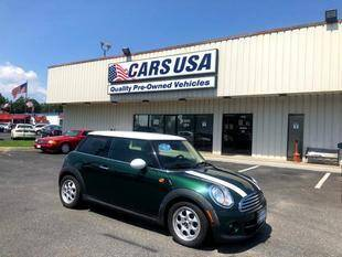 2012 MINI Cooper Hardtop for sale at Cars USA in Virginia Beach VA